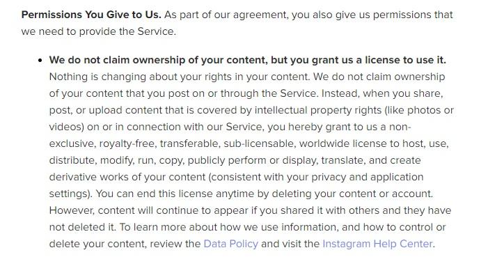 Instagram new rule Hoax