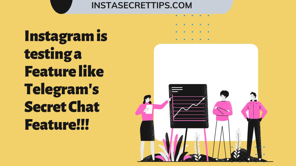Instagram Secret Chat Feature...